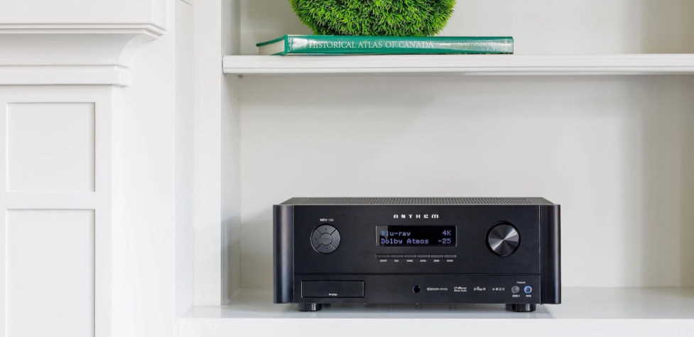 types of av receivers
